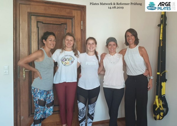 Pilates Reformer & Matwork Prüfung 14. August 2019